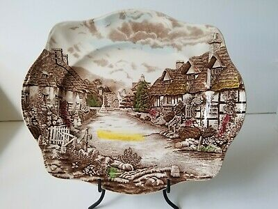 "Johnson Brothers OLDE ENGLISH COUNTRYSIDE 13 3/4"" Serving Platter Transferware"