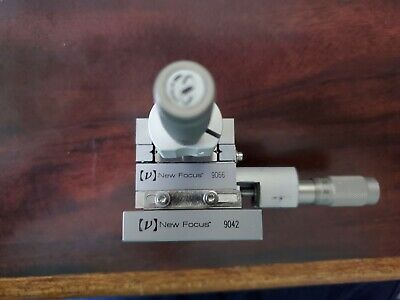 Newport XY Linear Stage, Crossed-Roller, 12.7 mm Travel, Dual 13mm Micrometer