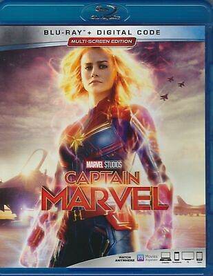 Captain Marvel (Blu-ray Disc, 2019) with Digital copy
