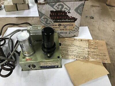 General Electric UPX-003B Phono Tube Preamp