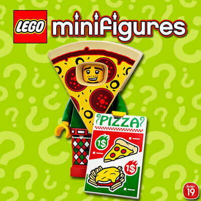 LEGO Minifigures #71025-13 - Serie 19 - Pizza Costume Guy - 100% NEW / NEUF