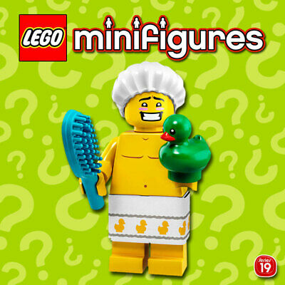 LEGO Minifigures #71025-5 - Serie 19 - Shower Guy / Douche - 100% NEW / NEUF