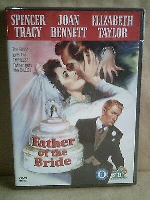 Father Of The Bride - Spencer Tracy - Original Warner Bros Dvd - New/Sealed