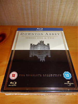 Downton Abbey Series 1-2 Complete (Blu-ray, 2011, 5-Disc Boxed Set) New & Sealed