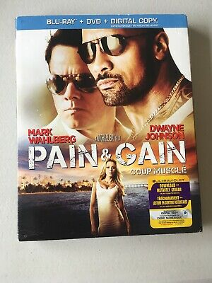 Pain & Gain (Blu-ray/DVD, 2-Disc Set, Canadian) Pain And Gain Brand New