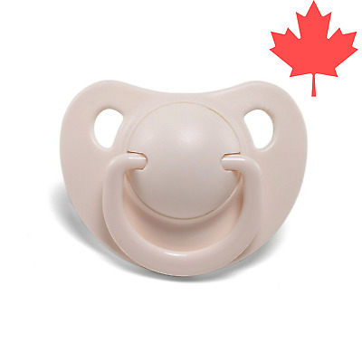 LittleForBig Adult Baby Pacifier The Smiley Paci Ivory