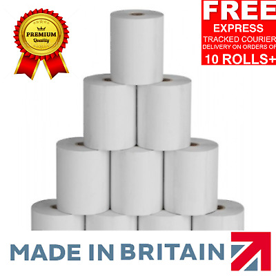 80x80mm Thermal Paper Till EPoS Receipt Printer Rolls 80 x 80mm EPoS Rolls (E7)