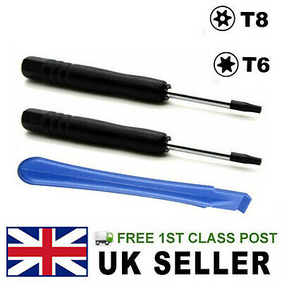PS4 PS3 Console Opening Tool and Security Screwdrivers Kit Torx T8 T6