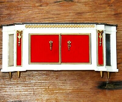 Ideal Petite Princess DOLLHOUSE Royal BUFFET Sideboard Mid Century Furniture Vtg