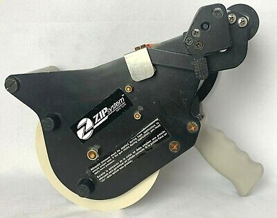"""Zip System Tape Gun Dispenser for use with 3-3/4"""" Tape With OR Without Liner EUC"""