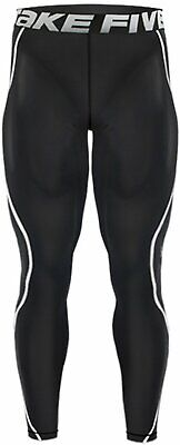 Take Five Compression Pants Baselayer Tights Gym Rugby Running Footy Team Sports