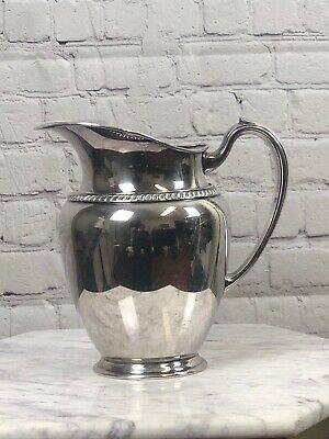 VTG Oneida Silver Plated Water Pitcher Free Ship