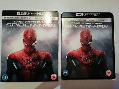AMAZING SPIDERMAN 4K BLURAY Like New