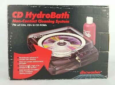 CD HydroBath #1120 Discwasher Non-Contact Cleaning System Recoton NEW Vintage