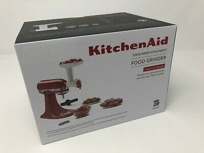 NEW KitchenAid FGA Food Meat Grinder Attachment for Stand Mixer IMPROVED DESIGN!
