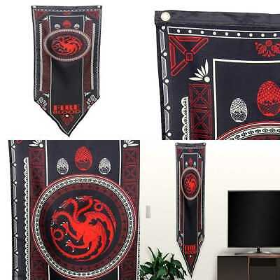 Game Of Thrones House Targaryen Tournament Banner 19.25 X 60 In PARTY ONE SIZE