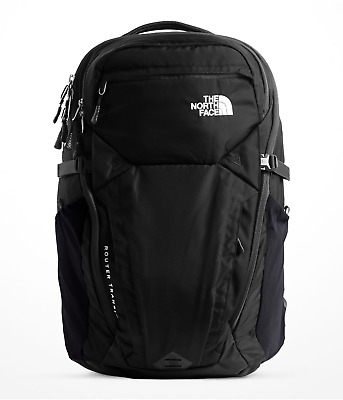 The North Face Router Transit Laptop Backpack - New Design - 41L - Black