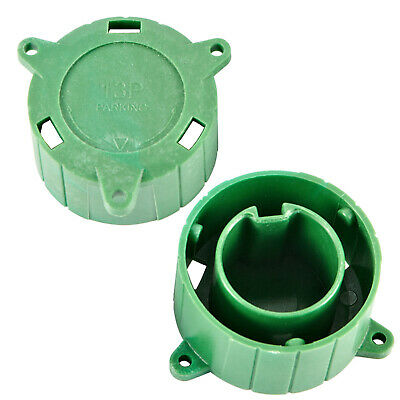 13 Pin Plug Green Alignment Tool - Plug keeper/Cover for caravans and trailers