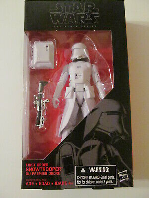 Star Wars: The Black Series - #12 - First Order Snowtrooper - 6-Inch Figure