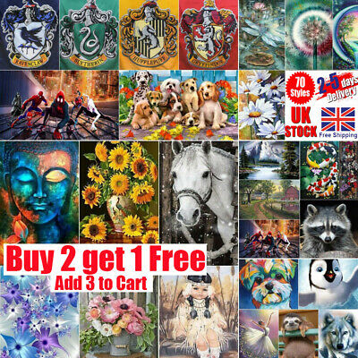 Festival Gift 5D Full Drill Diamond Painting Kits Harry Potter Embroidery Decors