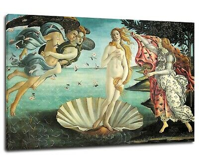 Sandro Botticelli - The Birth of Venus Poster Canvas Print 1