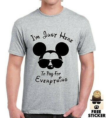 Mickey Mouse Funny T shirt Disney Land Holiday Tee Dad Father Family Gift Tee
