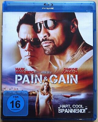 Pain & Gain | 2013 | Mark Wahlberg, Dwayne Johnson | Blu-ray