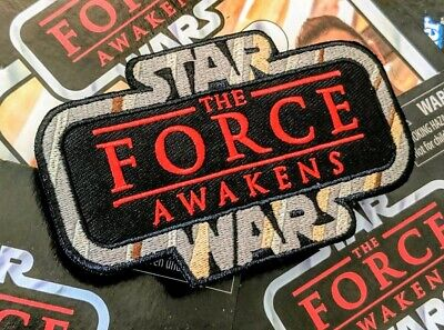 """STAR WARS""""The Force Awakens"""" Kenner Vintage Collection style toy logo patch"""
