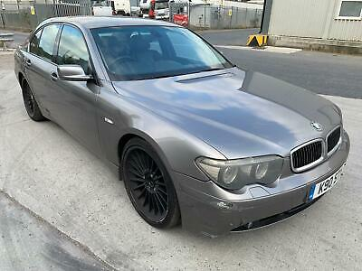 """2004 BMW 730d Sport AUTO STARTS+DRIVES 21"""" ALPINAS SPARES OR REPAIRS"""