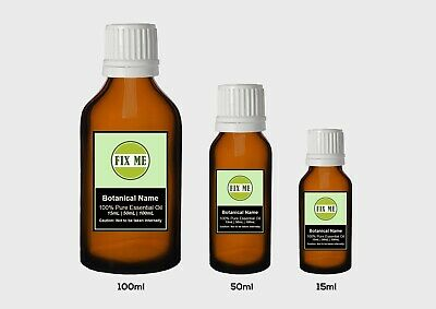 100% Pure Essential Oils - Natural Aromatheraphy Grade (15mL,50mL, 100mL)