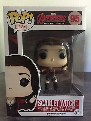 Funko Pop! Marvel Scarlet Witch Avengers Age of Ultron #95 Vaulted