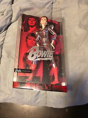 NEW  DAVID BOWIE As Ziggy Stardust BARBIE Doll Mattel FXD84 2019 IN HAND