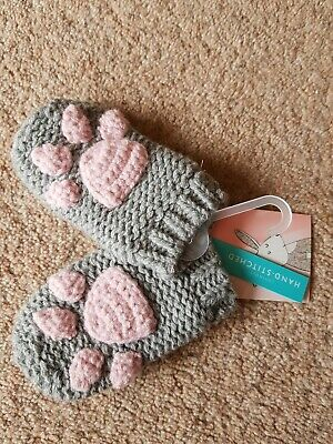 Joules Baby Paw Mittens BNWT 6-12 Months