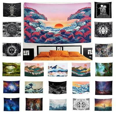 Mandala Tapestry Fabric Indian Throw Boho Wall Hanging Hippie Cover Bedspread UK