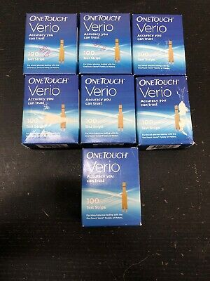 One Touch Verio Retail Test Strips, 700 Strips