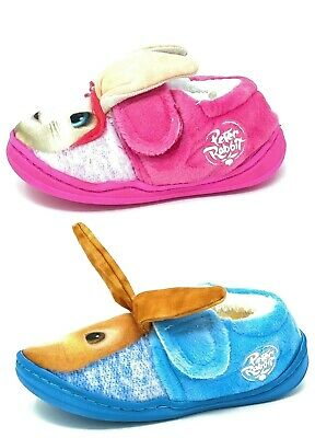 Kids/Childrens Peter Rabbit Lily Slippers Booties Boys Girls Mules Size 5-10