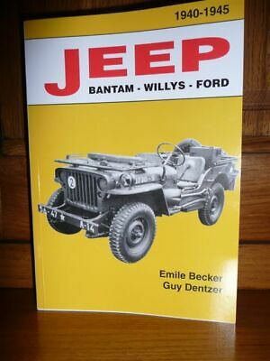 BECKER Jeep Bantam Willys Ford  1940 / 1945 MILITARIA WW2 M 201 HOTCHKISS BIBLE