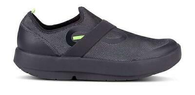 OOFOS Oomg Fibre Mens Shoes Black/Grey