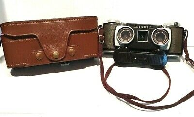 Vintage Kodak Stereo Camera 35mm Anaston Lens f / 3.5 with Case