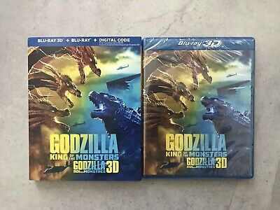 Godzilla: King of the Monsters (3D Blu-ray + Blu-ray + Digital, Bilingual)