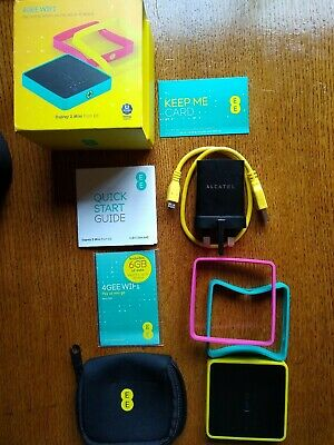 EE 4GEE Mobile Wifi Osprey 2 Mini BOXED & Complete Unlocked and with 6GB  Sim