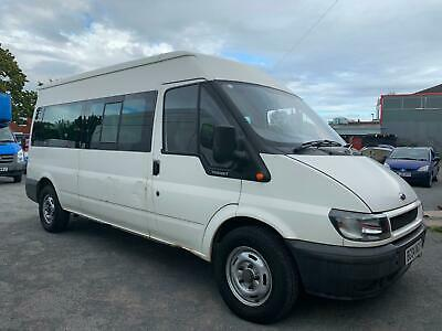 Ford Transit 350 Lwb 15 Seater - No Vat To Pay + Genuine Low Miles + 1 Pre Owner