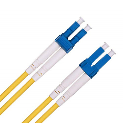 LC to LC Fibre Patch Cable 20m, OS1/OS2 Leads Single Mode Duplex 9/125 Fiber for