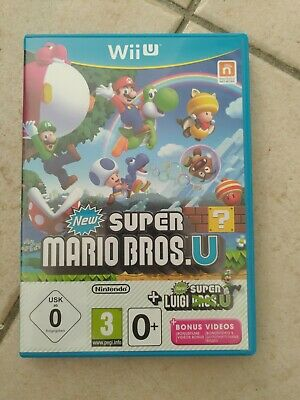 New Super Mario Bros U + New Super Luigi U Jeu Nintendo Wii U Pal Fr