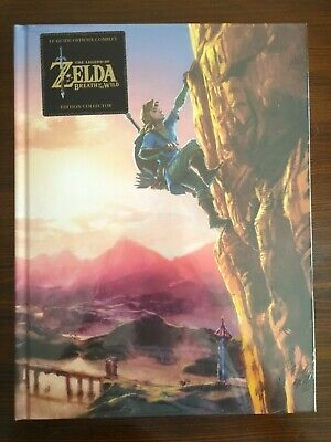 Guide Officiel The Legend Of Zelda Breath Of The Wild Neuf Collector