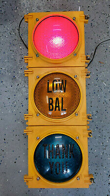 PA Turnpike Toll Booth Traffic Light EZPass Signal WORKING Plug & Play