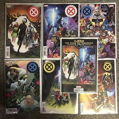 House of X- 1,2.3  Powers of X- 1, 2, 3 - cover A - Set Hickman X-Men Marvel NM+