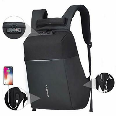 17 inch Business Backpack Anti-Theft Laptop Rucksack USB (17inch|With Lock)