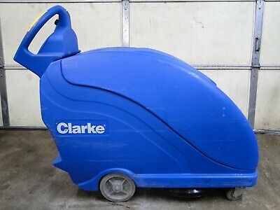 Clarke Fusion 20T Power Traverse Walk Behind Floor Burnisher Polisher 103.2hrs