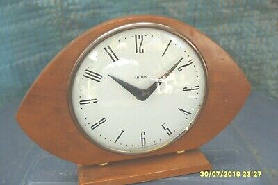 Mantle Clock 1960;S  Mantel  Time  Piece Working